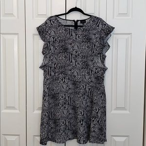 Who What Wear Snakeskin Print Dress from Target